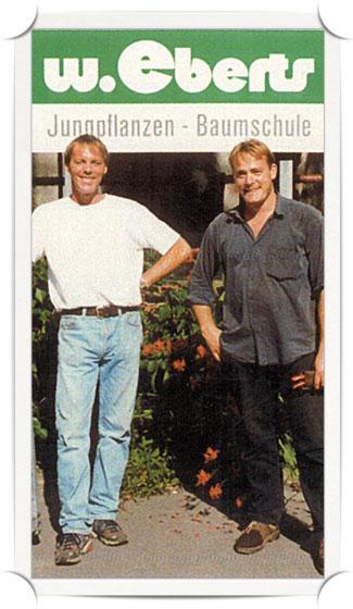 Klaus-Jürgen und Wilfried Eberts Portrait